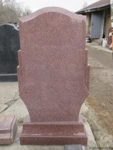 Памятники из красного гранита 5