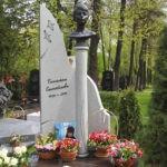 Могила и памятник Татьяны Самойловой