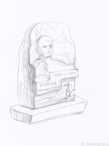 Эскизы памятников