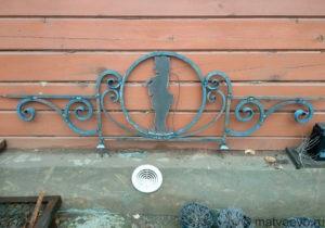 Изготовление металлической ограды под заказ
