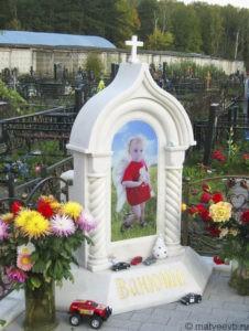 Памятники детям на могилу
