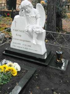 Памятники детям с ангелом